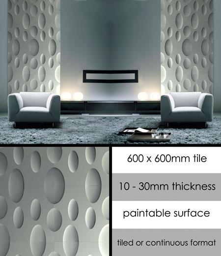 panneaux muraux d coratifs en panneaux muraux 3d lune. Black Bedroom Furniture Sets. Home Design Ideas