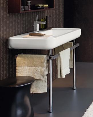 Lavabos et meubles pour salles de bains propos s par - Console de salle de bain ...