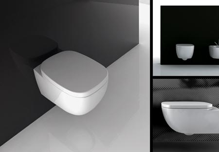 Toilette suspendue au mur afon et si ge toilette 97a - Toilette au mur ...