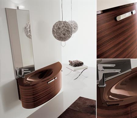 meubles de salle de bain en bois design - Suspension Salle De Bain Design