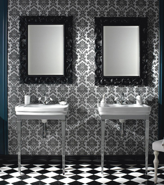 Lavabos et meubles pour salles de bains propos s par - Art et decoration salle de bain ...