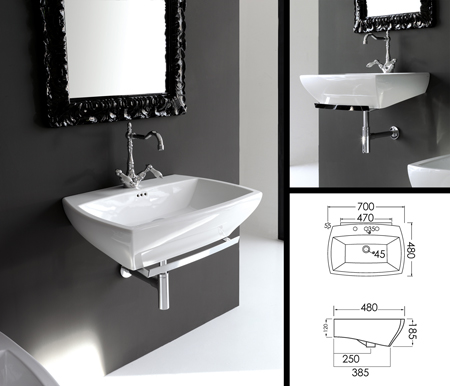 lavabo de salle de bains art deco lavabo de salle de bain mural. Black Bedroom Furniture Sets. Home Design Ideas