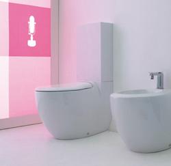 toilettes pour salles de bains modernes et contemporaines. Black Bedroom Furniture Sets. Home Design Ideas