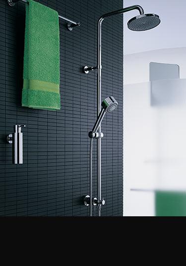 colonnes de douches cloisons de douches pommes de douches et colonnes de jets de corps. Black Bedroom Furniture Sets. Home Design Ideas