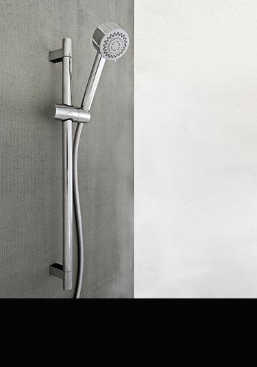 pomme de douche r glable coulissante manuelle. Black Bedroom Furniture Sets. Home Design Ideas