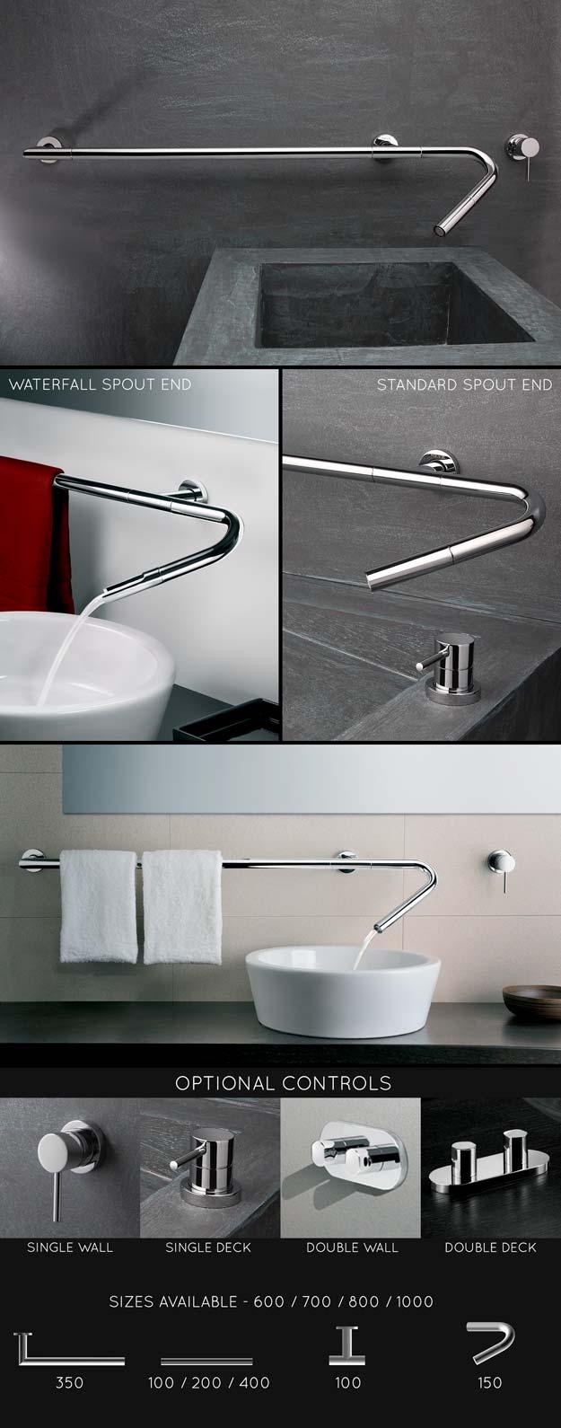 Robinetterie de lavabos design robinetterie d 39 evier for Robinet design salle de bain