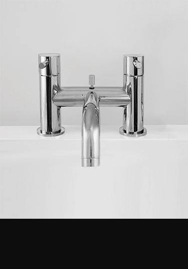 Robinets fraicheur lavabo baignoire douche en chrome for Baignoire lavabo integre