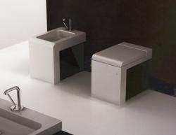Lavabos modernes de salles de bains modern bathroom - Toilette au mur ...
