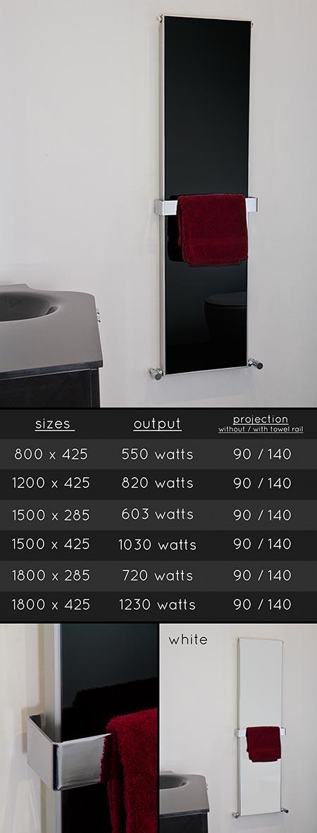 Porte serviette salle de bain design latest beau porte for Seche torchon cuisine