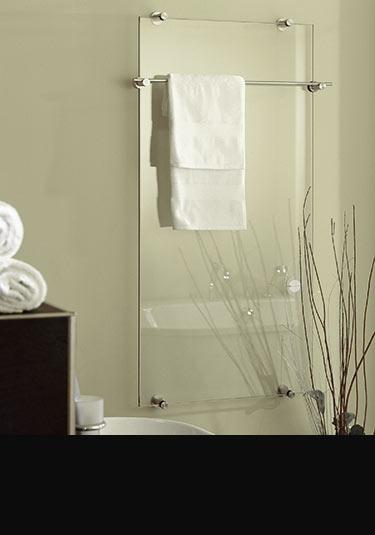 radiateurs miroir en verre porte serviettes par livinghouse. Black Bedroom Furniture Sets. Home Design Ideas