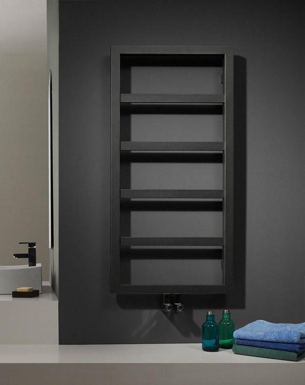radiateur s che serviettes en chelle echelle chauffe serviette tubes carr s. Black Bedroom Furniture Sets. Home Design Ideas